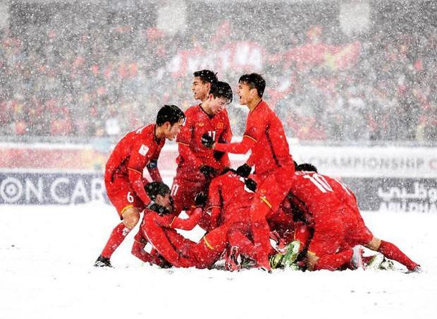 U23 Việt Nam đã ăn mừng đầy xúc động.