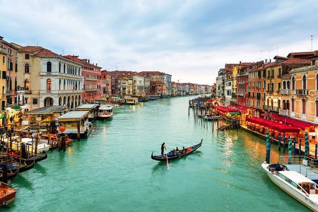 Venice xinh đẹp khi nước nôi đầy đủ.