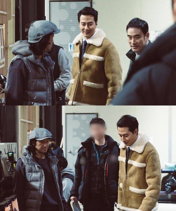 Tạo hình nhân vật của Jo In Sung trong phim.