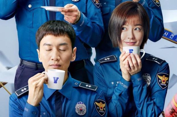 """Đóng cặp với anh chàng """"Hươu cao cổ"""" trong Live là nữ diễn viên Jung Yoo Mi."""