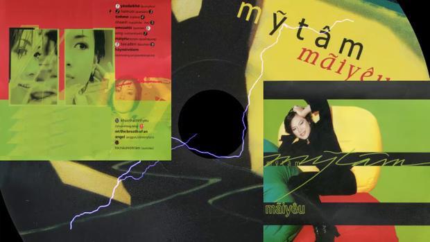 Album vol.1 Mỹ Tâm phát hành vào năm 2001.