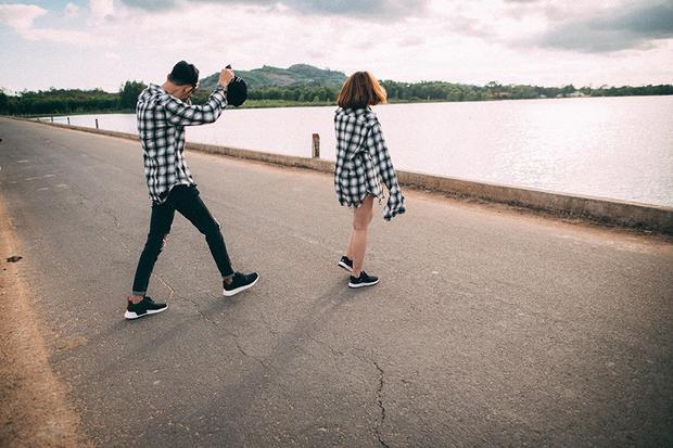 Quý và Thảo tiết lộ, những khoảnh khắc này được cả hai lưu lại tại hồ Núi Le, Xuân Lộc, Đồng Nai.