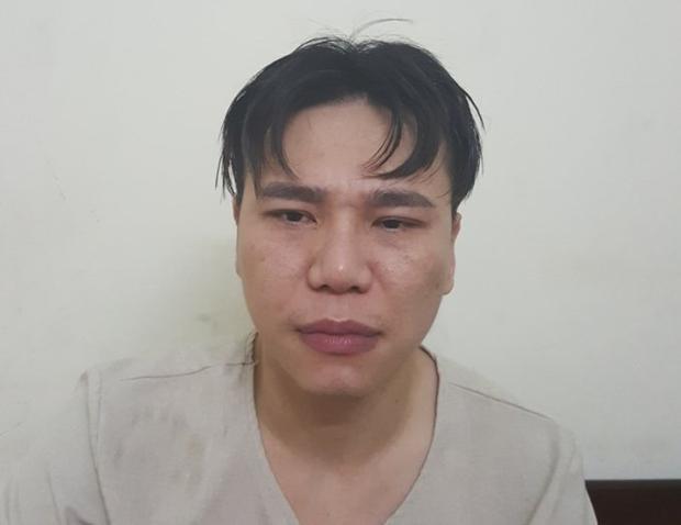 Châu Việt Cường tại cơ quan công an.