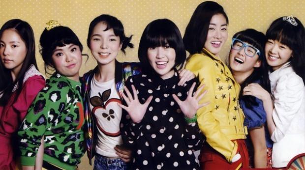 Nhóm nữ quái Sunny trong nguyên tác Hàn Quốc.