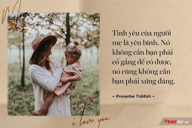 Bởi mẹ yêu chúng ta vô điều kiện, yêu bằng bản năng mà không cần chúng ta phải hồi đáp. Còn ai vĩ đại hơn mẹ nữa đây? Hãy về nhà và ôm mẹ, bạn nhé!