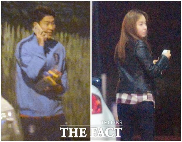 """Sau một thời gian chia tay Minah, Son Heung-min bị cánh săn ảnh chộp được cảnh hẹn hò cùng Yoo So-young, mỹ nhân """"siêu vòng 1"""" nóng bỏng bậc nhất xứ sở kim chi."""