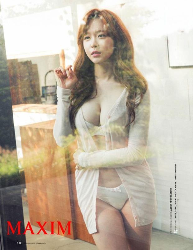 Yoo So-young là cựu thành viên của nhóm nhạc After School và là một nữ diễn viên nóng bỏng. Đáng chú ý, cô nàng này sinh năm 1986, tức là hơn Son đến 6 tuổi.