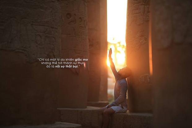 Lấy cảm hứng từ Nhà giả kim, chàng trai này đã đến Ai Cập với toàn bộ nhiệt huyết tuổi trẻ