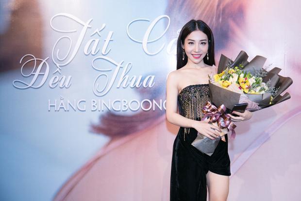 Hằng BingBoong xuất hiện xinh đẹp, rạng rỡ.