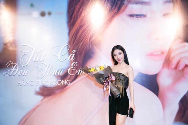 Câu chuyện trong Tất cả đều thua em sẽ là phần nối tiếp của MV Rời mà Hằng BingBoong đã phát hành cùng ca sĩ Trung Quân Idol.