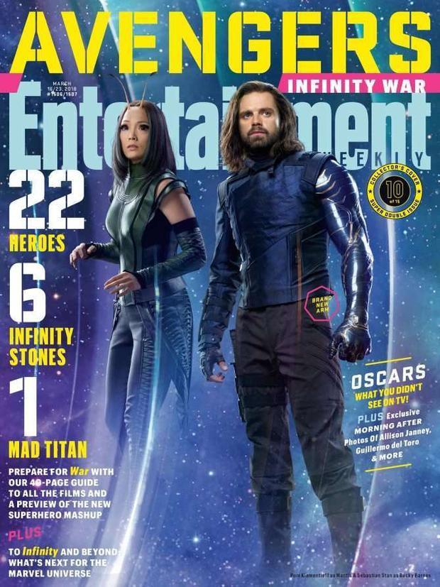 Bìa 10: Mantis và Bucky Barnes