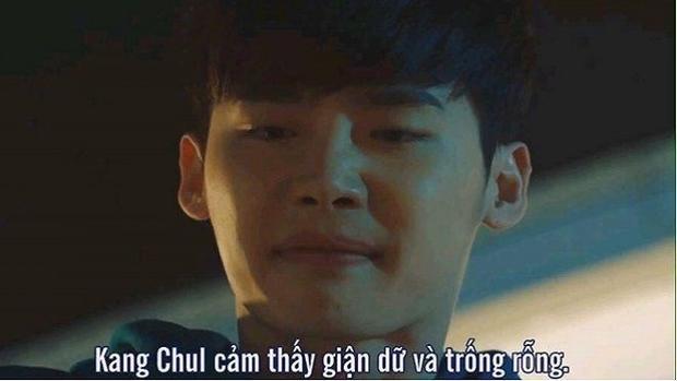 """Cụm từ mô tả chính xác cảm xúc của """"Kang Chul"""" Lee Jong Suk lúc này."""