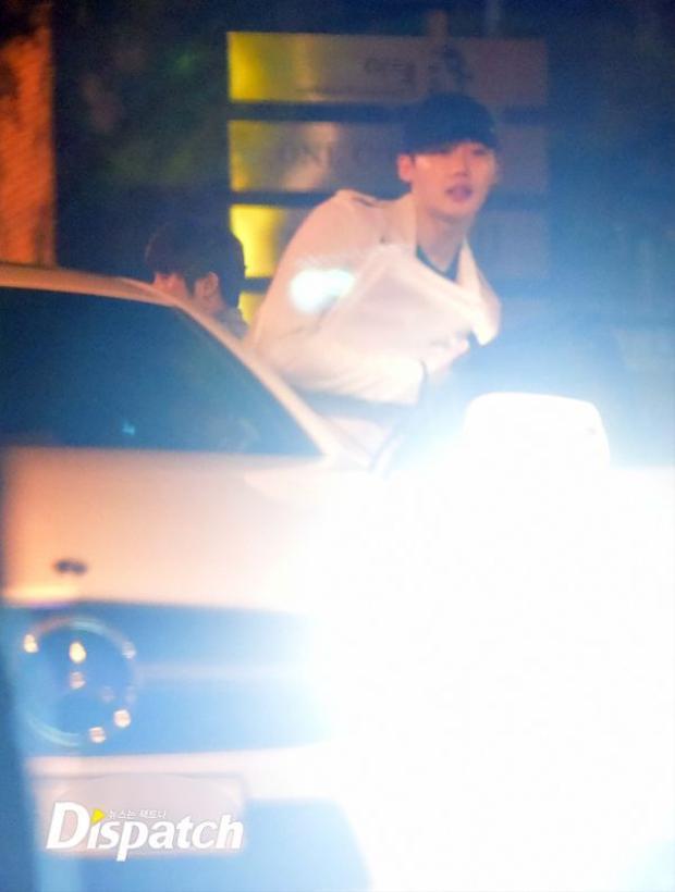 Hình ảnh bí mật hẹn hò của Lee Jong Suk và Park Shin Hye.