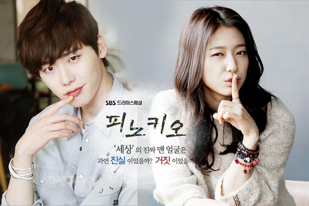 Lee Jong Suk - Park Shin Hye bén duyên qua phim truyền hình Pinocchio.