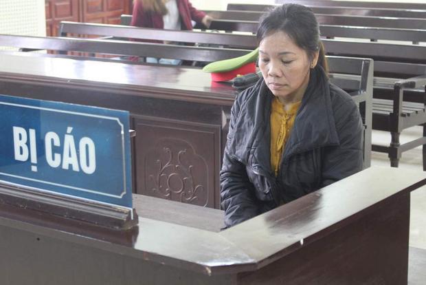 Bị cáo Nguyễn Thị Út Tha tại phiên tòa.