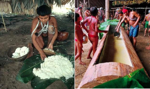 Tục lệ ăn tro cốt của bộ lạc Yanomami khiến không ít người cảm thấy rùng mình. Ảnh: Wikimedia