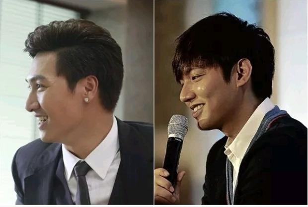 """Có thể bạn sẽ ngạc nhiên trước sự so sánh này vì cho rằng mỹ nam xứ Hàn Lee Min Ho có chút """"không liên quan"""" với nam diễn viên Mạnh Trường. Tuy nhiên, vẫn có những khoảnh khắc, góc máy khiến bạn phải """"ngã ngửa"""" trước nét tương đồng của họ."""