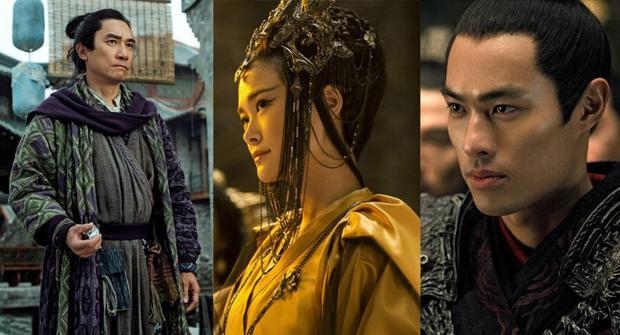 """Dương Hựu Ninh (phải ngoài cùng) trong """"Monster Hunt 2""""."""