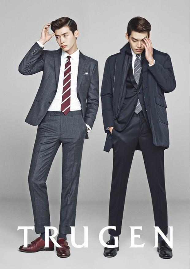"""Sau """"School 2013"""", """"chàng vịt"""" Lee Jong Suk và """"Khủng long"""" Kim Woo Bin trở thành tri kỉ ở ngoài đời"""