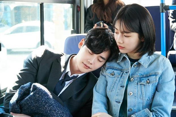 """Suzy là Lee Jong Suk thường dùng những từ ngữ có cánh nói về nhau khi diễn chung trong """"While you were sleeping"""""""
