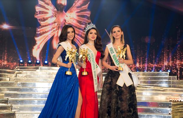3 người đẹp xuất sắc nhất cuộc thi: Thái Lan - Việt Nam - Australia.