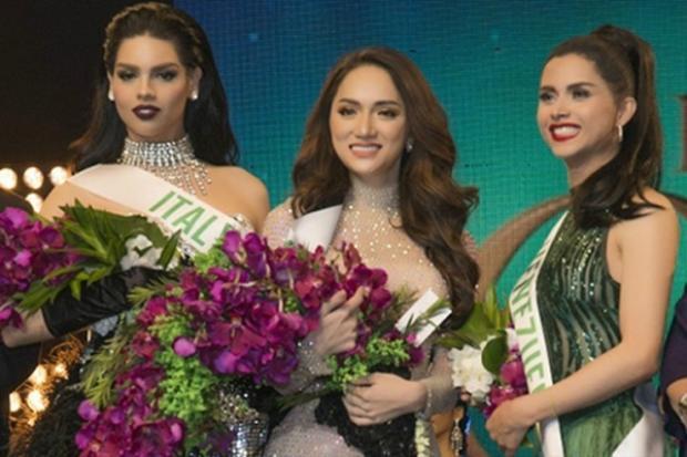 Đại diện Việt Nam xuất sắc giành được giải thưởng Người đẹp Tài năng của cuộc thi.