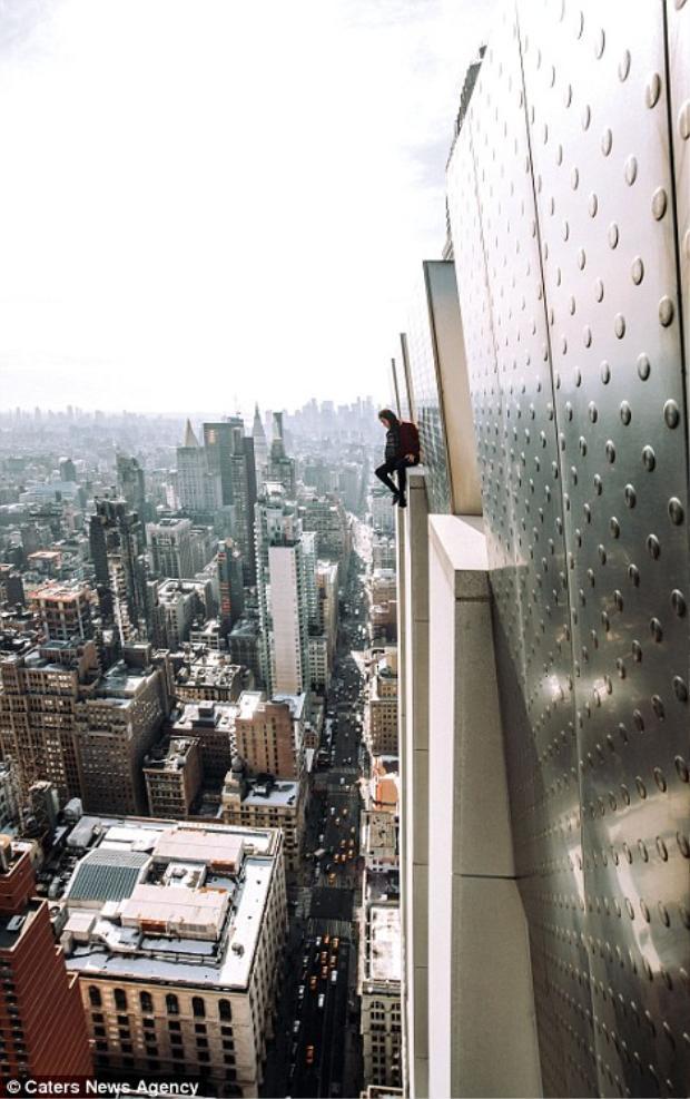 Cuộc phiêu lưu trên những nóc nhà chọc trời khiến New York trở thành một trải nghiệm thú vị.