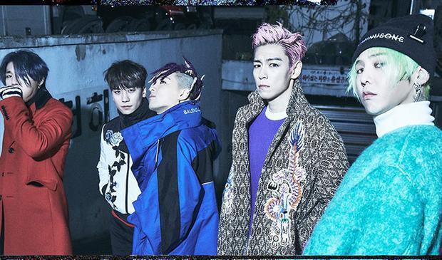 Đây được xem là lời chào tạm biệt bất ngờ của 5 thành viên BigBang khi 4/5 người đã lên đường nhập ngũ.