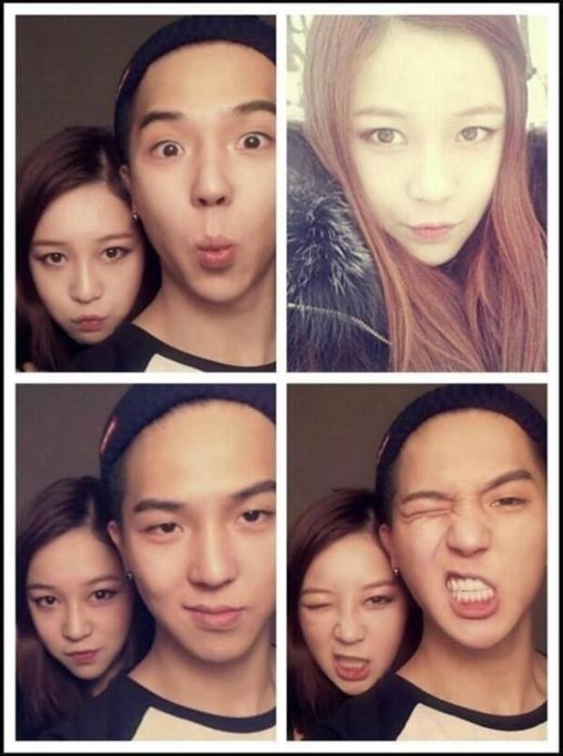Mino cũng là một ông anh thường xuyên khoe em gái của mình với người hâm mộ bởi Da Na sở hữu nhan sắc không hề kém cạnh các mỹ nữ của Kbiz đâu nhé.