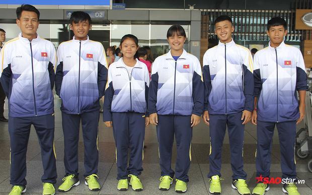 Tuyển quần vợt trẻ Việt Nam lên đường dự giải quốc tế