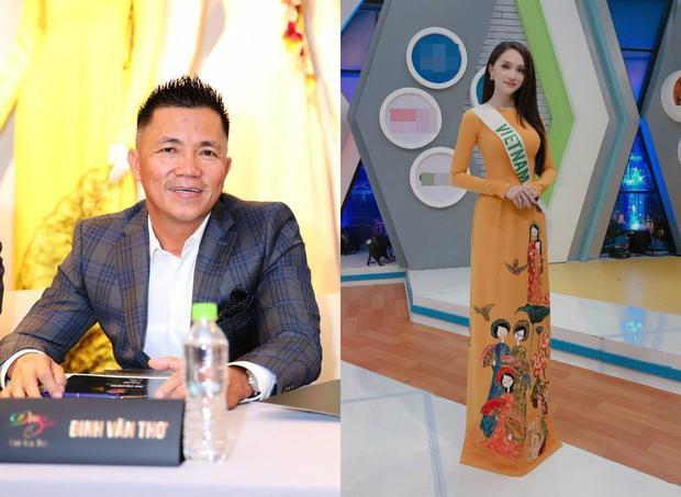 NTK Đinh Văn Thơ và chiếc áo dài giúp đại diện Việt Nam tỏa sáng.