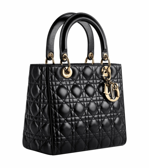 Chiếc túi có tên đầy đủ làLady dior bag in black lambskin. Dòng Lady Dior có nhiều màu sắc và kích cỡ khác nhau. Dòng sản phẩm này nói chung được ra mắt giữa thập niên 90. Giá bán mỗi chiếc túi Lady Dior mini dao động từ 55 -150 triệu đồng tùy vào chất liệu, họa tiết và màu sắc. Riêng chiếc túi của Hương Giang có giá gần 80 triệu đồng.
