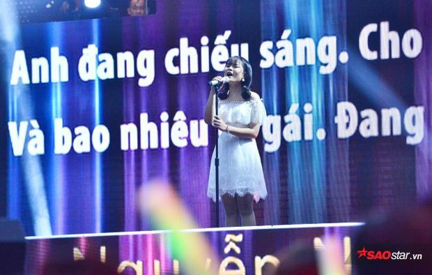 Thí sinh Nguyễn Ngọc Tường Vy.