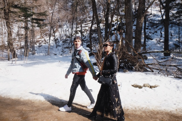 …đi bộ trên đường Thông - địa điểm quay phim truyền hình đình đámGolbin.