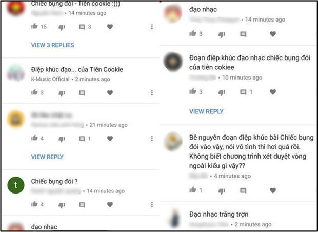 Khán giả để lại nhận xét về bài của thí sinh Bình Minh.
