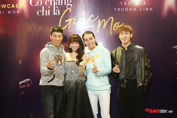 Ngoài khách mời Tuấn Trần, Hải Triều và BB Trần cũng xuất hiện với vai trò MC để ủng hộ người chị thân thiết của mình