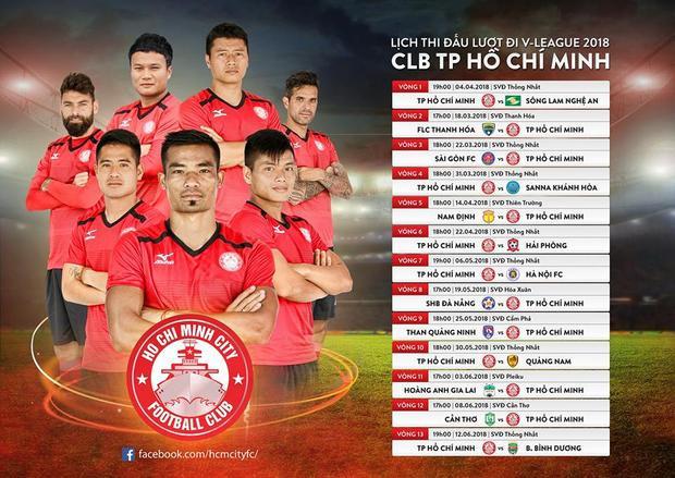"""CLB TP.HCM đã sẵn sàng cho mùa bóng 2018, với sự """"lột xác"""" từ chuyên môn đến hình ảnh."""
