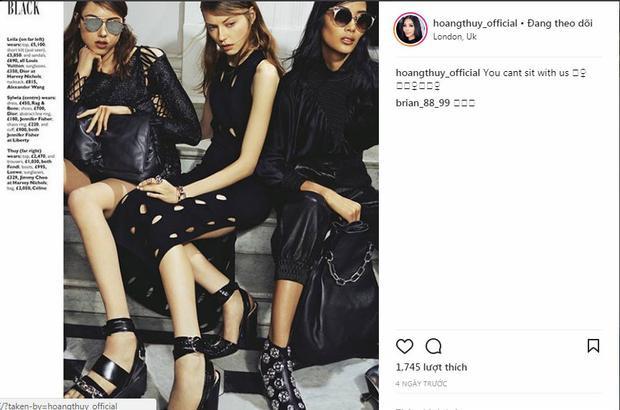 Chưa hết chân dài gốc Thanh Hóa liên tục đăng tải những hình ảnh lúc cô còn là hoạt động người mẫu ở thị trường quốc tế.