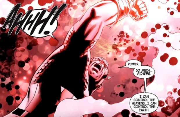 Captain America cùng chiếc găng tay nhiệm màu