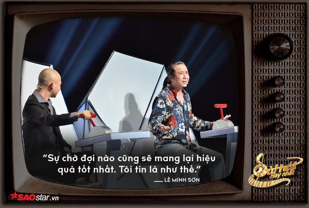 HLV Lê Minh Sơn nhường thí sinh là có ý đồ cả đấy!