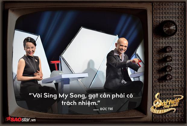 """Tuy nhiên, chính vì HLV Lê Minh Sơn liên tục nhường thí sinh, Đức Trí phải """"cảnh tỉnh"""" thế này."""