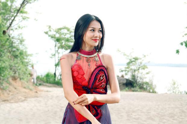 Hình ảnh Thanh Hằng trong phim.