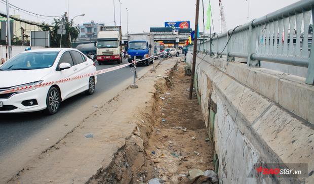 Hầm chui nhánh N.2 theo hướng ngược về thành phố sẽ tiếp tục được thi công sau khi nhánh N.1 hoàn thiện.