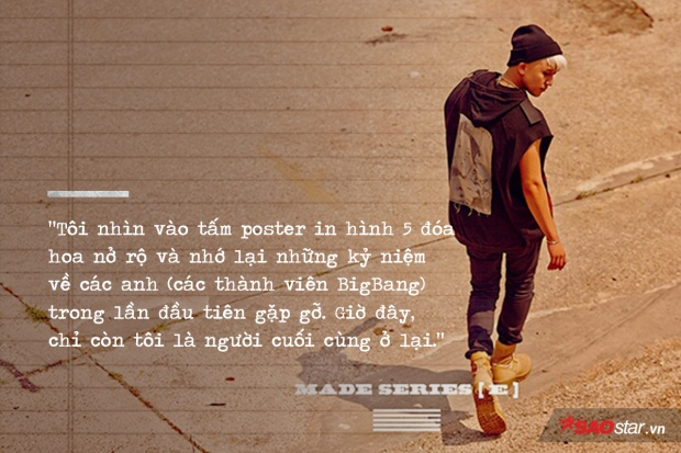 Flower Road cùng lời nhắn từ BigBang: Tôi nhất định gặp lại em, vào ngày những bông hoa nở rộ