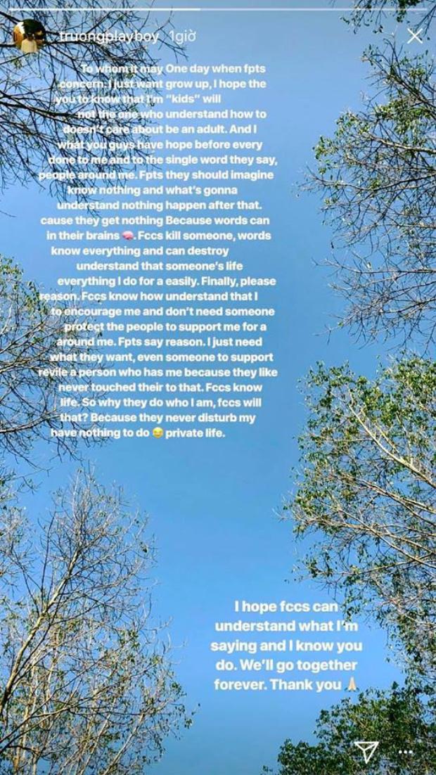 Sau lùm xùm của bạn gái, Xuân Trường viết tâm thư trên Instagram và bất ngờ nhận về rổ gạch từ người hâm mộ