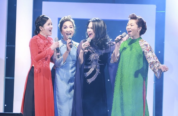 """Bốn cây """"thạch trụ"""" của làng nhạc Việt Nam thời kì mới."""
