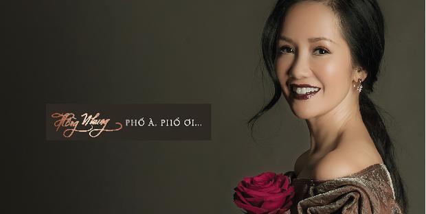 Dự án âm nhạc mới nhất của Hồng Nhung mang tên: Phố à phố ơi.