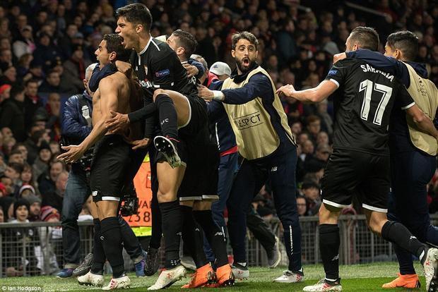 Niềm vui của Sevilla.