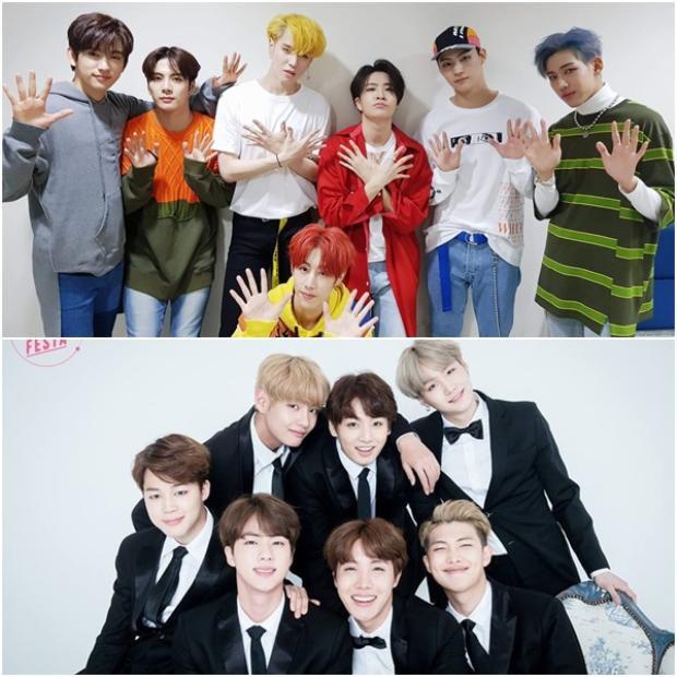 Sự thành công của BTS hiện tại đang là tấm gương cho nhiều đàn em noi theo.