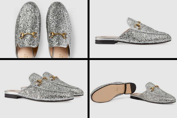 Đôi giày có tên đầy đủ làPrincetown glitter slipper, hiện tại được bán với giá 535 bảng Anh, tương đương gần 17 triệu đồng.